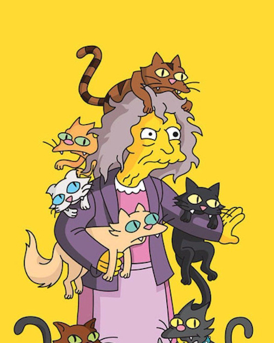 Quote by Crazy Cat Lady (The Simpsons)